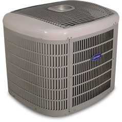 Carrier Infinity series heat pump from Clarkstown