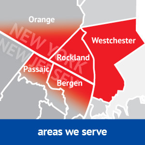 Areas around Rockland County served by Clarkstown