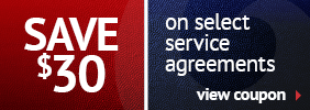 Coupon on service agreements with Clarkstown