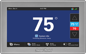 American Standard AccuLink Platinum thermostat1050 Control